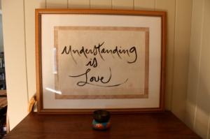 Understanding Is Love